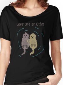 Love One An Otter Women's Relaxed Fit T-Shirt