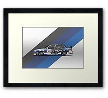 Volvo 850 Saloon TWR BTCC Racing Super Touring Car (1995) Framed Print