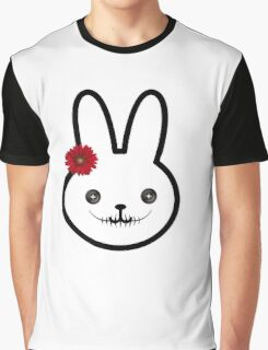 Evil Bunny Graphic T-Shirt