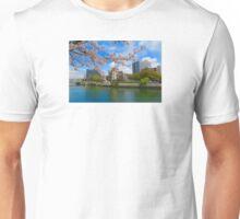 Atomic Dome and Sakura Unisex T-Shirt