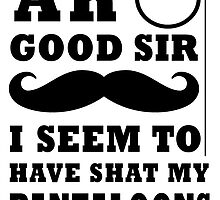 ah good sir i do believe i have shat my pantaloons  by Glamfoxx