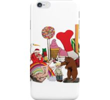 Who shake loose the rainbow? iPhone Case/Skin