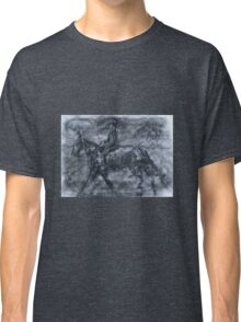 In a dusty black coat...peaky blinders art Classic T-Shirt