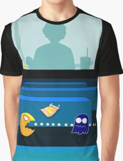 Pac Man From The Other Side Graphic T-Shirt