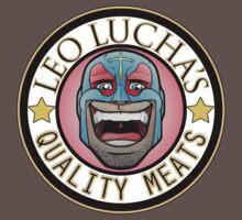 Leo Lucha's Quality Meats Baby Tee
