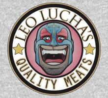 Leo Lucha's Quality Meats Kids Tee