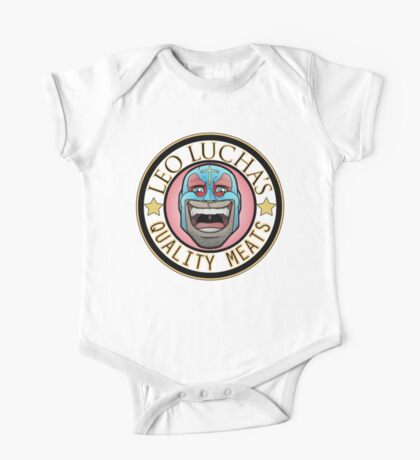 Leo Lucha's Quality Meats One Piece - Short Sleeve