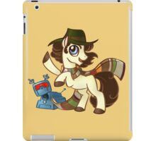 4th Dr Whooves iPad Case/Skin