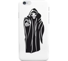 Death hooded evil iPhone Case/Skin