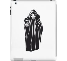Death hooded evil iPad Case/Skin