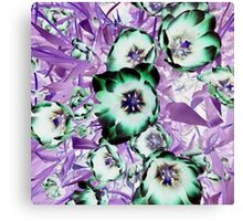 Psychedelic Blooms Canvas Print