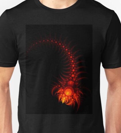 Scorpio - Abstract Fractal Artwork Unisex T-Shirt