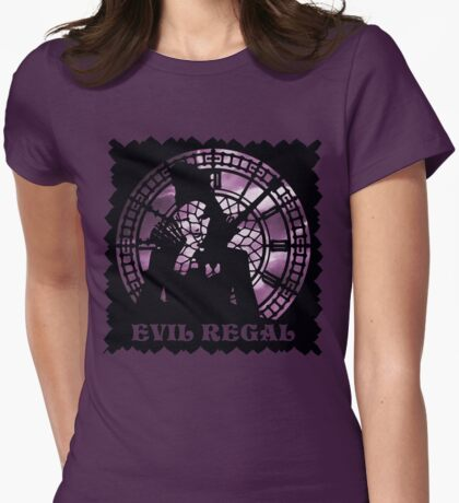 Evil Regal Womens Fitted T-Shirt
