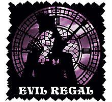 Evil Regal Photographic Print