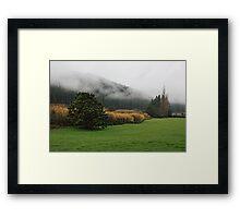 Dreich day stillness Framed Print