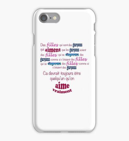 Blur - Girls and Boys (En Français!) iPhone Case/Skin