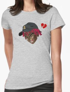Heartbreak Kid Famous Dex Womens Fitted T-Shirt