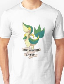 Shine Bright Like A Snivy - Pokemon Unisex T-Shirt