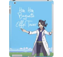 Hon Hon Baguette Eiffel Tower iPad Case/Skin