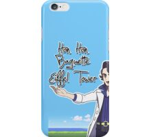 Hon Hon Baguette Eiffel Tower iPhone Case/Skin