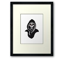 Death hood Framed Print