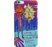 angel with 0 wings iPhone Case/Skin