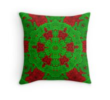 Christmas In June Throw Pillow