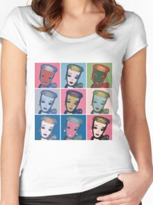 Warhol Barbie Women's Fitted Scoop T-Shirt
