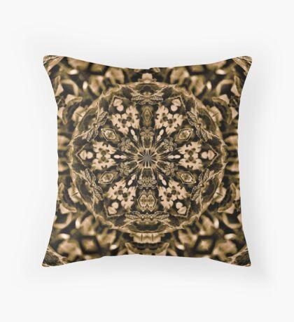 Soft Sepia Throw Pillow