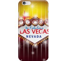 Welcome to fabulous Las Vegas Nevada sign iPhone Case/Skin