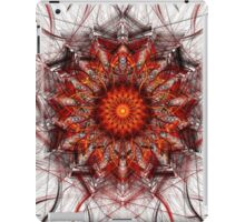 Scorching Sun - Abstract Fractal Artwork iPad Case/Skin