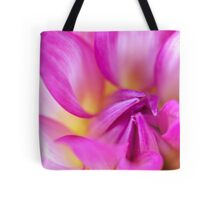 Soft Focus Dahlia Tote Bag