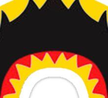 BAPE SHARK GOLD TEETH Sticker