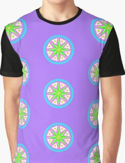 Psychedelic Star Graphic T-Shirt