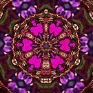 Purple Passion Tapestry Weave by Scott Mitchell