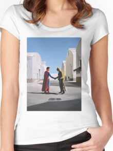 Wish You Were Here Women's Fitted Scoop T-Shirt