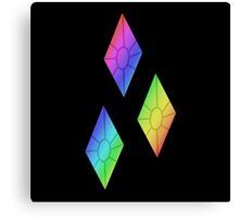 MLP - Cutie Mark Rainbow Special - Rarity Canvas Print