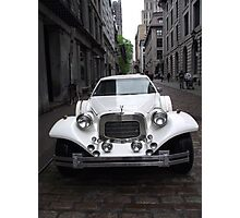 Fine Car, old Montreal Photographic Print