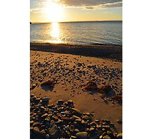 Bras d'Or Beach in Autumn Photographic Print