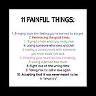 eleven painful things case by tylerandmisha