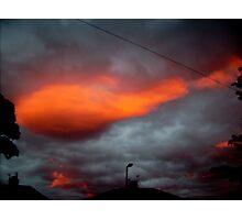 Sky at night Photographic Print