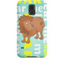 Lion | Hear Me ROAR Samsung Galaxy Case/Skin