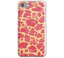 Alyssum - cheetah iPhone Case/Skin