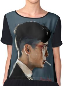 Peaky Blinders - clean background Chiffon Top