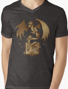 The Mysterious Game of the Throne Mens V-Neck T-Shirt
