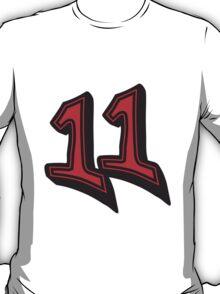 11 Elf Comic Cartoon 3d Design T-Shirt