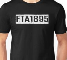 FTA 1895 (WHITE) Unisex T-Shirt