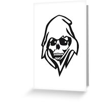 The death Greeting Card