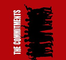 The Commitments silhouette  by Emilie Nutley