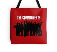 The Commitments silhouette  Tote Bag